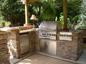 Outdoor Kitchens really enhance the Central Oregon lifestyle.